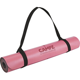 CAMPZ PU Position Line Yoga Mat M, red
